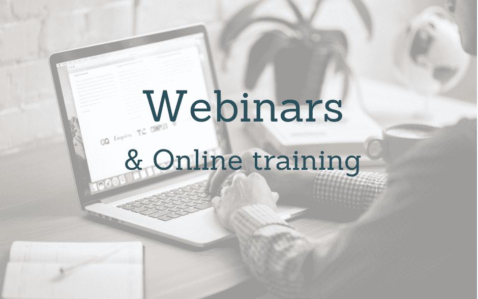 Webinars-and-online-training